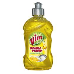 Vim Dishwash Liquid Yellow 250ml - (UL-303)