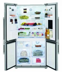 Beko GNE 134620 X Fridge Freezer 605 ltr