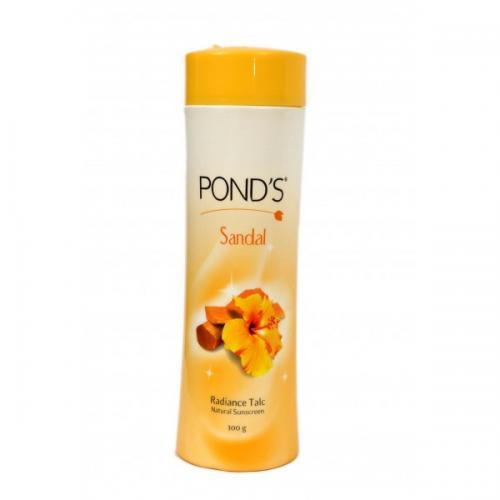 Ponds Sandal Radiance Talc 300gm - (UL-282)