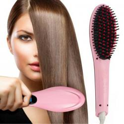 Electric Fast Hair Straightener Comb -(TP-639)
