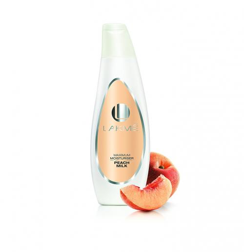 Lakme Peach Milk Moisturizer Body Lotion 60ml - (UL-238)