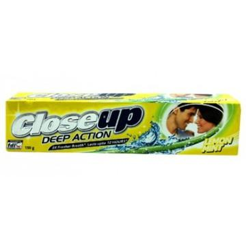 Closeup Deep Action Lemon Mint Toothpaste 150gm - (UL-325)
