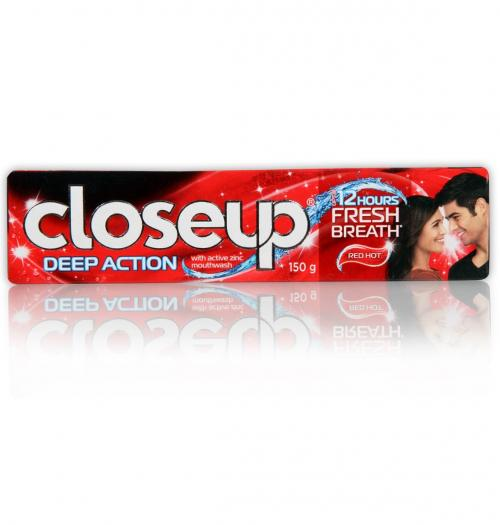 Closeup Deep Action Red Hot Toothpaste 150gm - (UL-326)