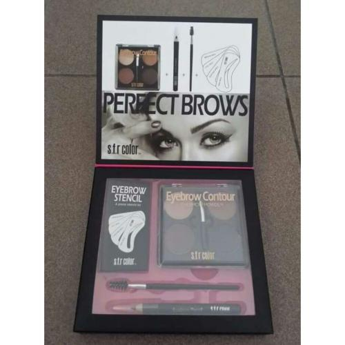 Eyebrow powder set with eyebrow pancil&blender