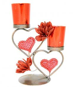 Double Candle Holder - (ARCH-062)