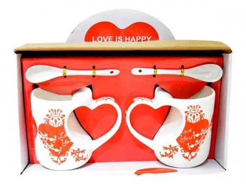 Ceramic Couple Mug - (ARCH-064)