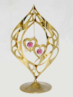 Crystocraft Gold Plated Showpiece - (ARCH-080)