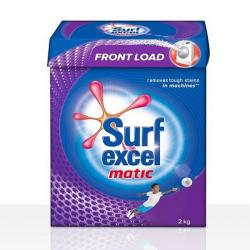 Surf Excel Matic Front Load Detergent Powder 2 kg - (UL-011)