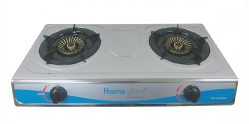 Homeglory 2 Burner S.S Gas Stove - (HG-GS402)