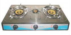 Homeglory 3 Burner S.S Gas Stove - (HG-GS403)