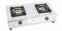 Homeglory 2 Burner Sleek S.S Gas Stove - (HG-GS601)