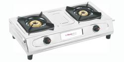 Homeglory 2 Burner Diamond S.S Gas Stove - (HG-GS602)
