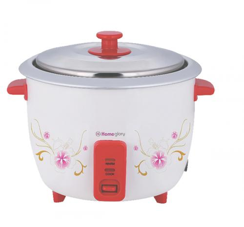 Homeglory Drum model pearl ricecooker 1ltr-(HG-RC108)