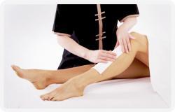 Leg Waxing-Half - (OF-012)