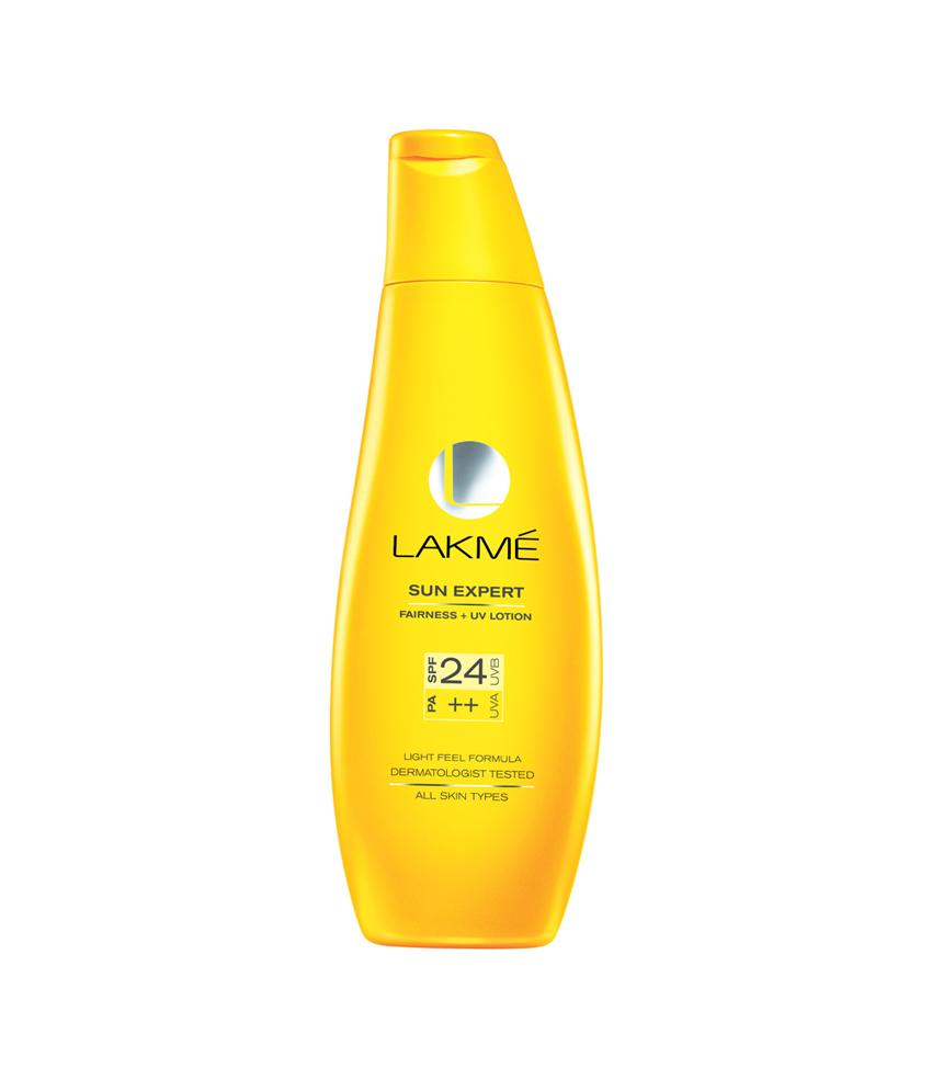 Lakme Sun Expert Spf 24 Pa Fairness Uv Sunscreen Lotion 60 Ml - (UL-241)
