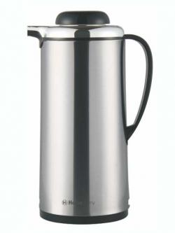 Homeglory S.S Button Steel Vacuum Flask 1.3ltr - (HG-TP1300A)