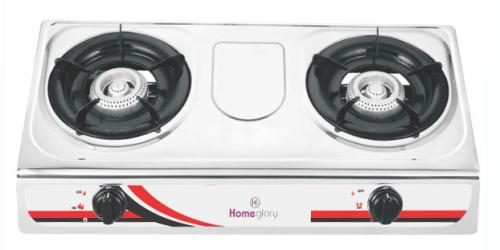 Homeglory 2 Burner S.S Gas Stove - (UH-GS202)