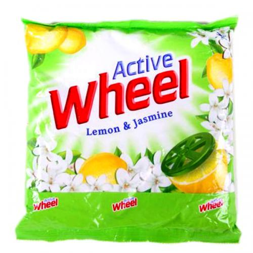 Wheel Lemon & Jasmine Green Washing Powder 300gm - (UL-013)