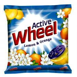 Wheel Lemon & Orange Detergent Powder 300gm - (UL-015)