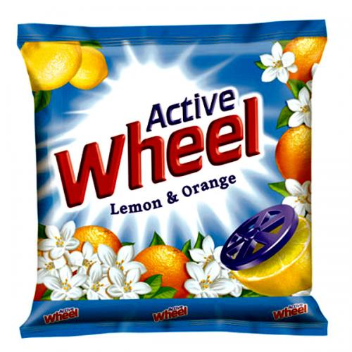Wheel Lemon & Orange Detergent Powder 300gm - (UL-015)