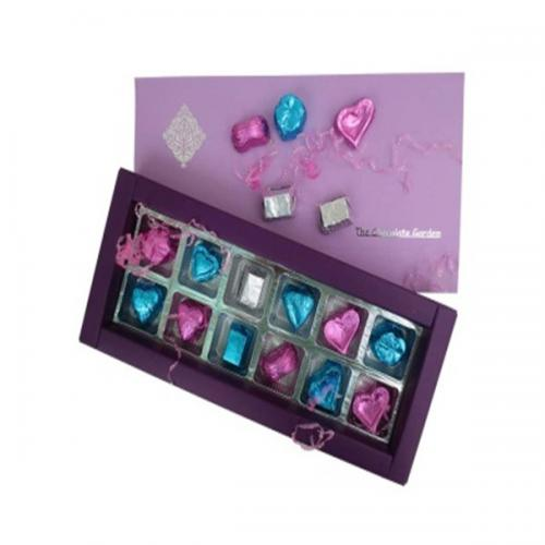 Sweet Purple Chocolate - 12 pcs - (TCG-019)