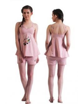 Bwitch Anti Bite Melange Shorts - (BW601-Anti Bite-Pink)