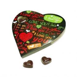 Heart Chocolate - 11 pcs - (TCG-041)