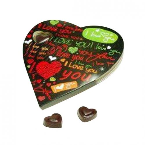 Heart Chocolate - 11 pcs - (TCG-041)