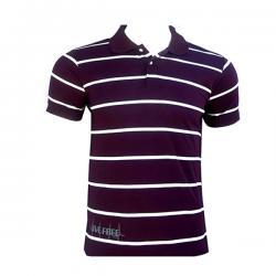 Purple White Stripped T-Shirt For Men - (SB-182)