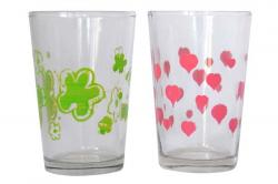 Printed Tea Glass - 6 pcs - (TP-641)