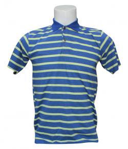 Striped Half Sleeved Polo T-Shirt For Men - (SB-198)