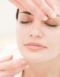 Eyebrows + Upperlip Threading Service- (OF-041)