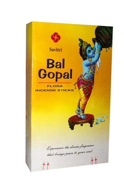 Savitri Bal Gopal Flora Incense Sticks - (INCENSE-003)