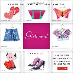 Girligami Kit: Origami Kit for Kids