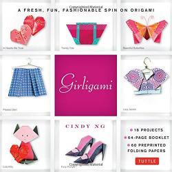 Girligami Kit: Origami Kit for Kids