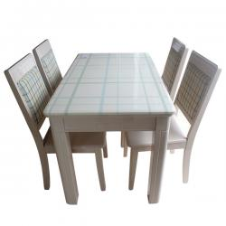 4 Seater Dinning Table Set - (FL217- 19)