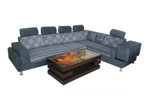 L Shaped Sofa Set - Siz Seater - (FL315-12)