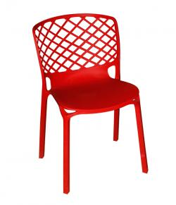 Dark Red Outdoor Chair - Visitor Chair - (FL116-16)