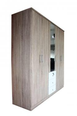 Wooden 5D Wardrobe - (FL750-08)