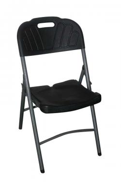 Black Foldable Chair - (FL807-28)