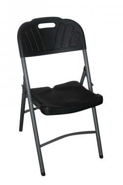 Black Foldable Chair - (FL807-28)