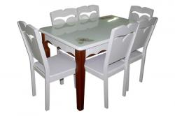 Dinning Table Set - Six Seater - (FL211-21)