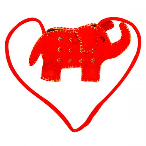 Elephant Designed Small Fashionable Side Bag