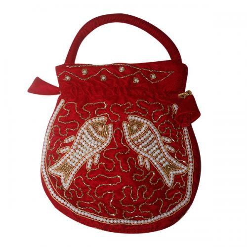 Embroidered Small Bag For Ladies - Thaili