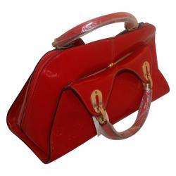 Red Fancy Handbag For Ladies - (2015-4)