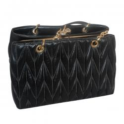 Dark Black Fancy Handbag For Ladies - (6120-1)