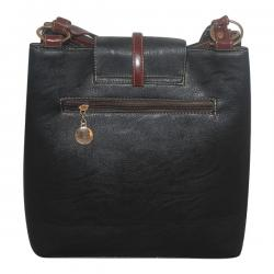 Dark Black Fancy Handbag For Ladies