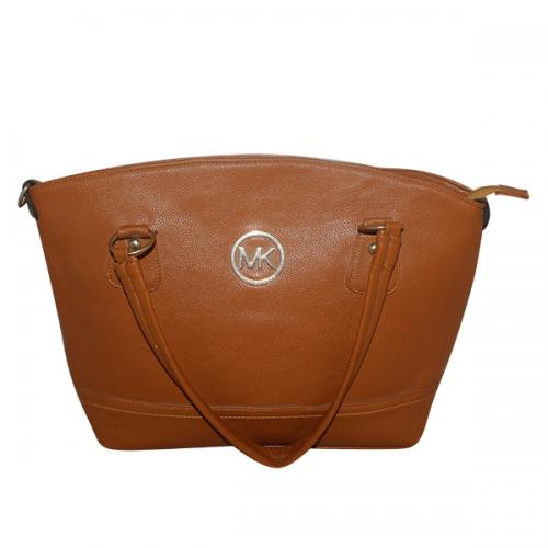 Dark Brown Fancy Handbag For Ladies