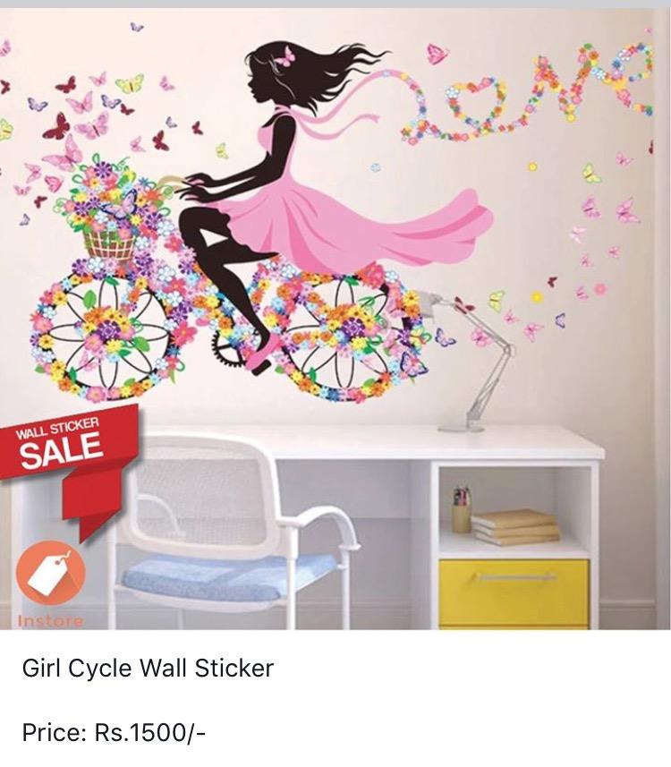 wall stickersinstore, kathmandu, nepal - online shoppingnepbay.