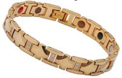 Tungsten 5 in one energy bracelet